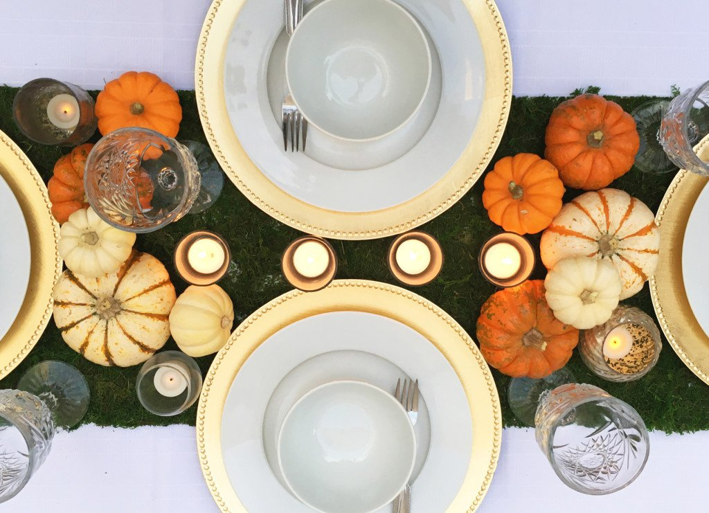 A Backyard Harvest Dinner Party