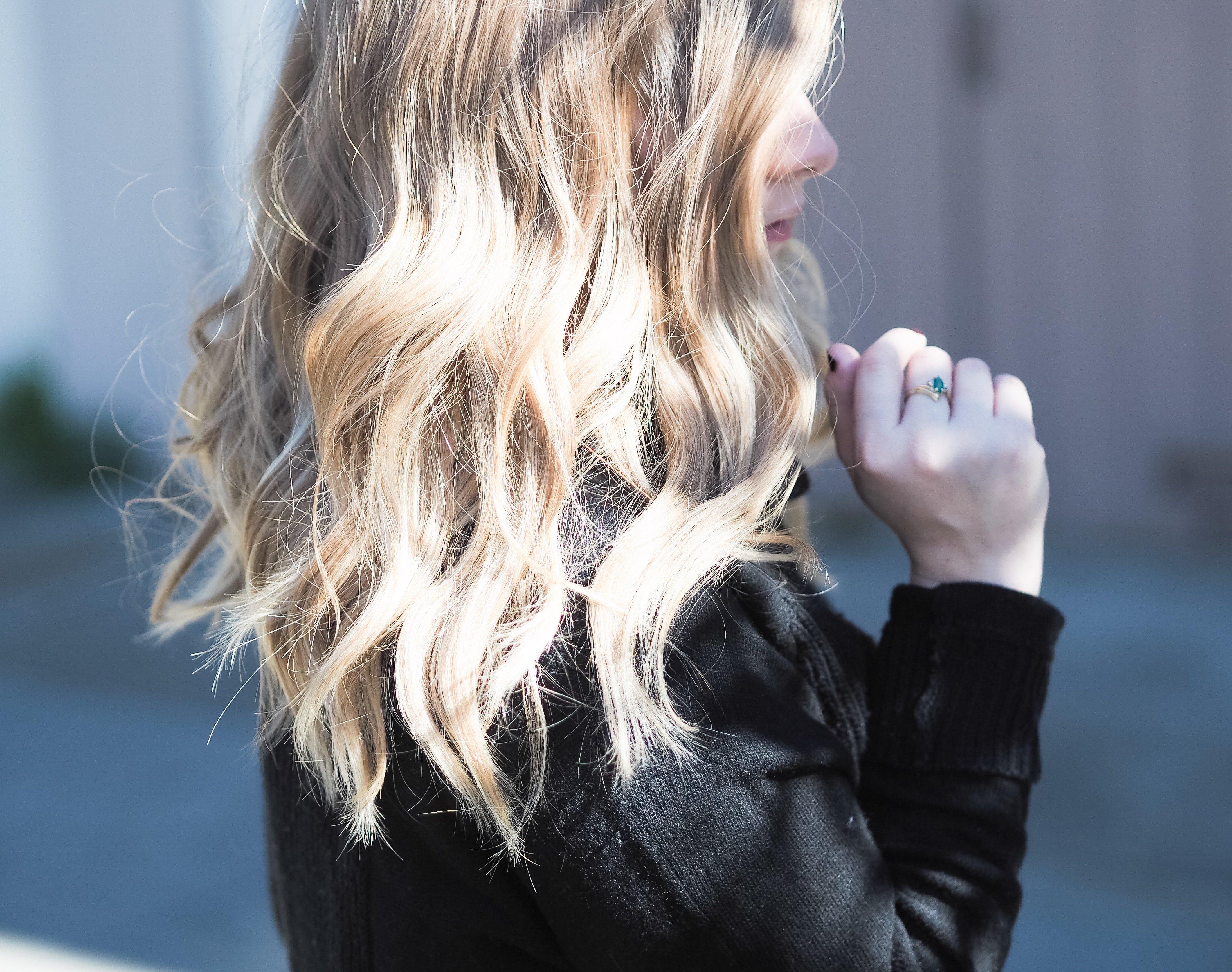 easy beach hair