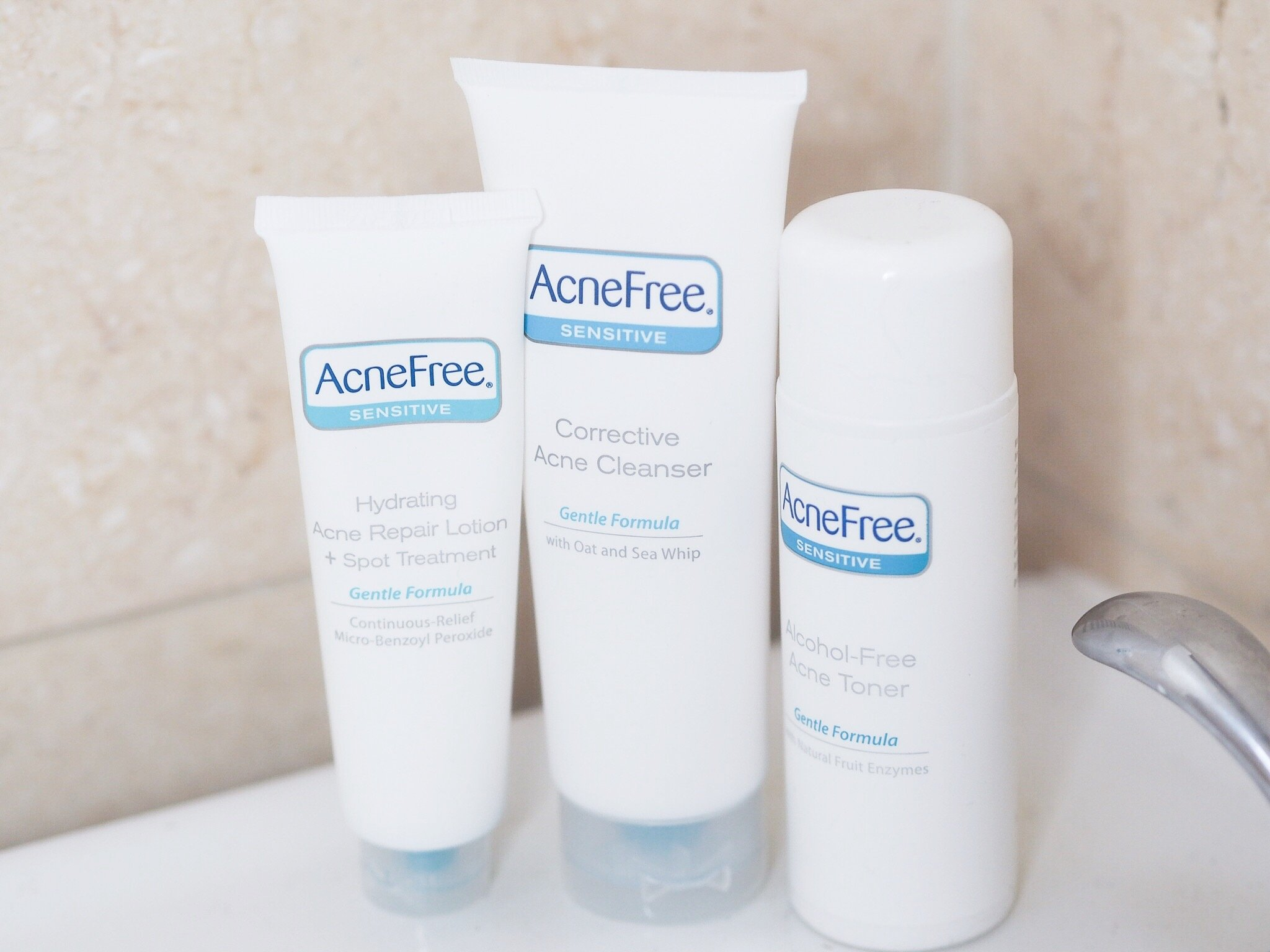 Go BARE this summer with AcneFree!